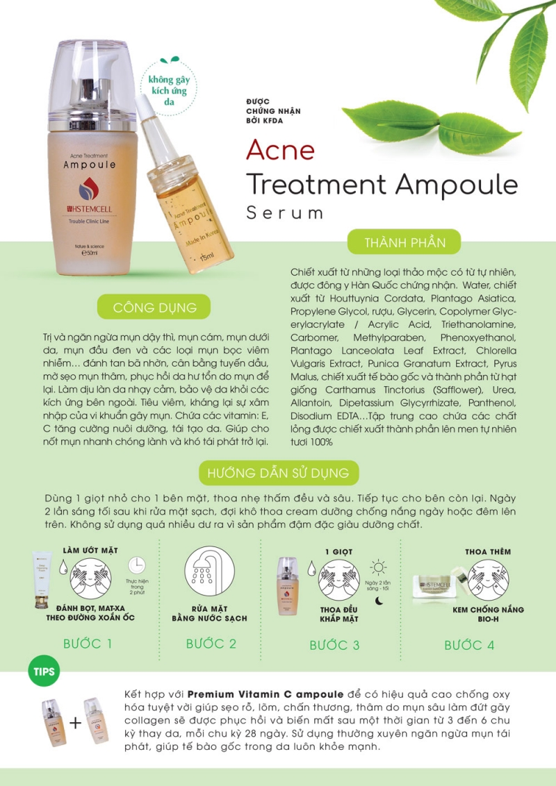 Serum Acne Ampoule